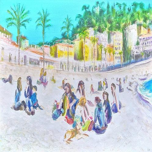'Promenade des Anglais' Original Painting