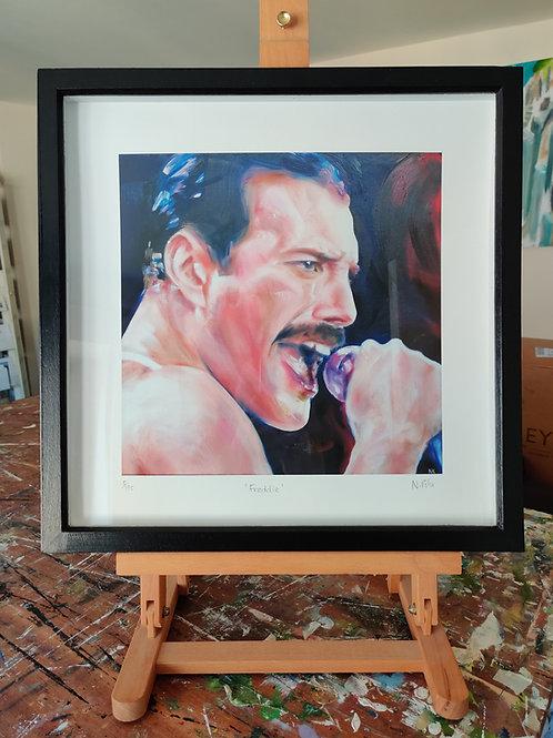 'Freddie' Framed, limited edition print