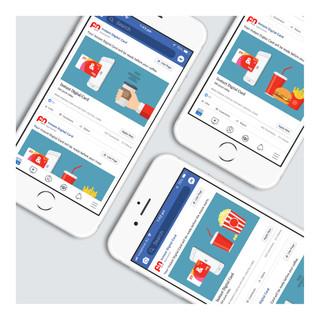 P&N Bank   Social Media Design