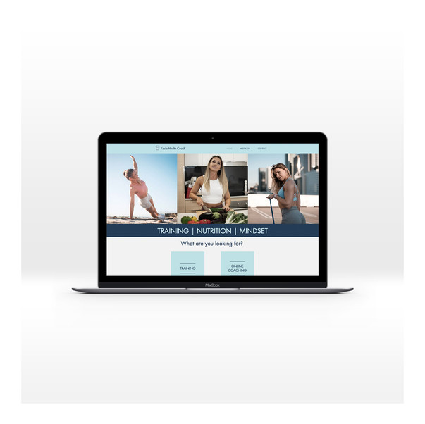 Kasia Health Coach | Website Design