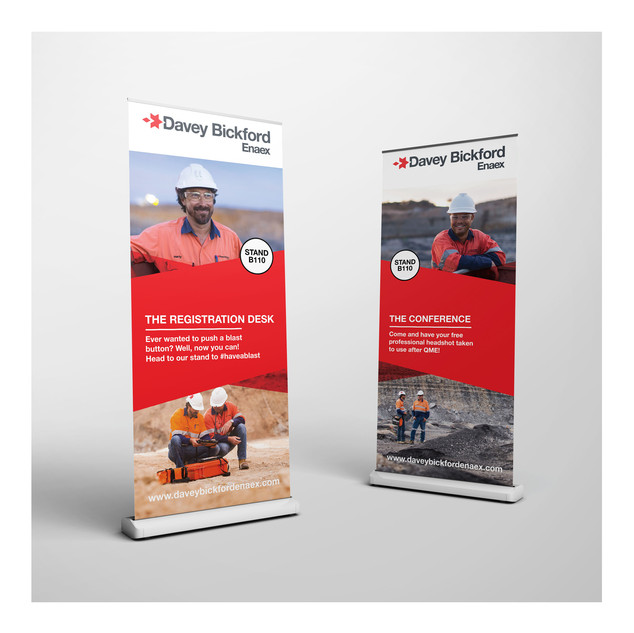Davey Bickford | Banners Design