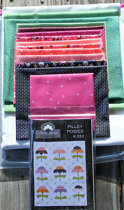 Pilley Posies Quilt Kit