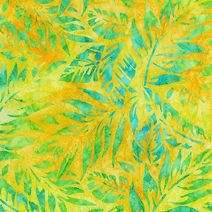 Robert Kaufman Artisan Batiks Totally Tropical - SunShine
