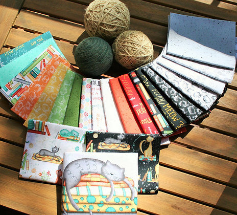 Windham Fabrics Purrfect Day Fat Quarter Bundle with Panel