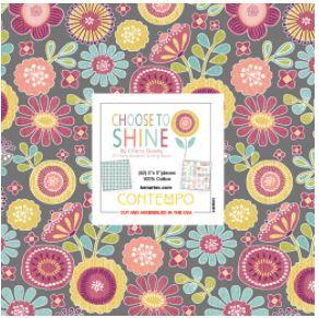 Benartex Choose To Shine 5 inch by 5 inch pieces