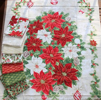P&B Textiles Rejoice 7 Piece Fat Quarter Bundle with Panel