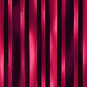 Clothworks Trellis Watercolor Stripe - Dark Fuschia
