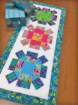 Rolling Stone Table Runner - PAPER pattern