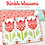 Thumbnail: MINI Vintage Tulips - PAPER pattern