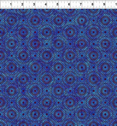 In The Beginning Cosmos Burst - Blue