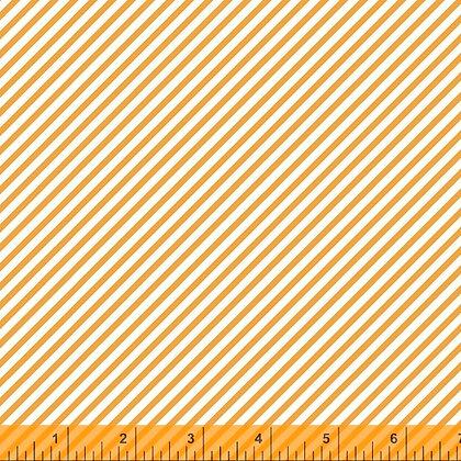 Windham Cora Diagonal Stripe - Orange