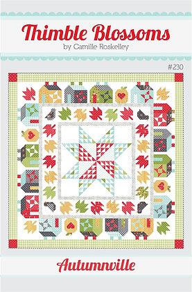Autumnville - PAPER pattern