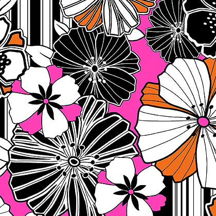 Kanvas Studio Fruit Punch Graphic Poppy - Pink