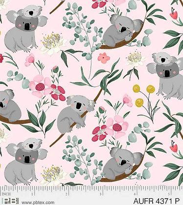 P&B Textiles Aussie Friends Koala Bear - Pink