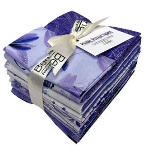 Benartex Pearl Reflections Purple 12 piece Fat Quarter Bundle