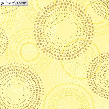 Kanvas Studio Shimmer & Shine Shimmery Spirals - Yellow