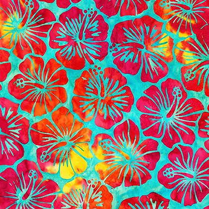 Robert Kaufman Artisan Batiks Totally Tropical - Rainbow