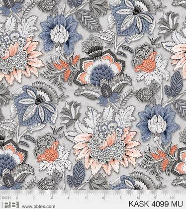 P&B Textiles Kashmir Kaleidoscope Floral - Multi