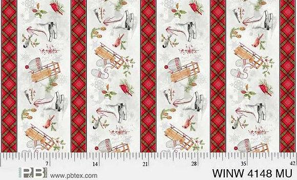 P&B Winter Wonderland Winter Border - Multi