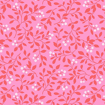 Benartex  Rose Whispers Berry Blush - Rose