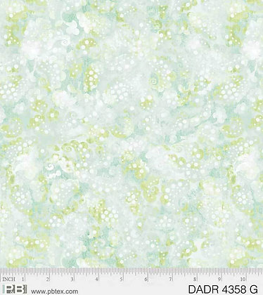 P&B Textiles Day Dreams Paisley Wideback - Green