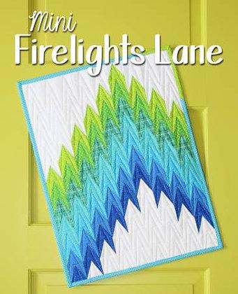 Mini Firelights Lane - PAPER pattern