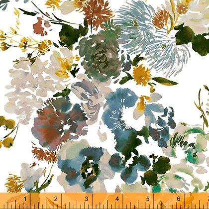 Windham Wildflowers Wildflower - Teal