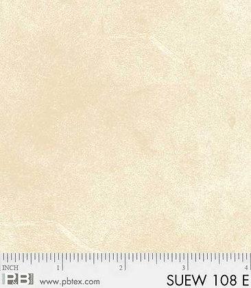 P&B Textiles Suede Wideback 108 - Ecru