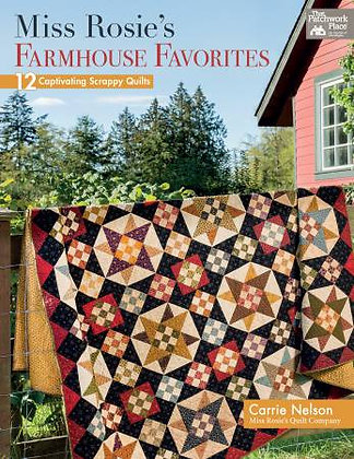 Miss Rosie's Farmhouse Favorites - Softcover Quilt Book