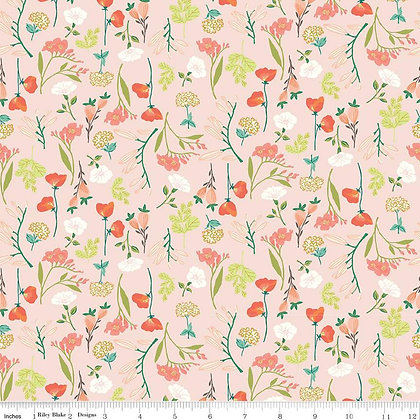 Riley Blake Midsummer Meadows Main - Blush