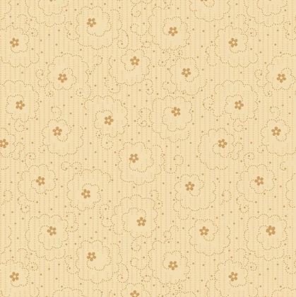 Henry Glass Linen Closet Small Floral - Cream