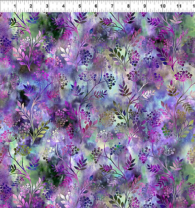 In The Beginning Floragraphix V Sprigs - Purple