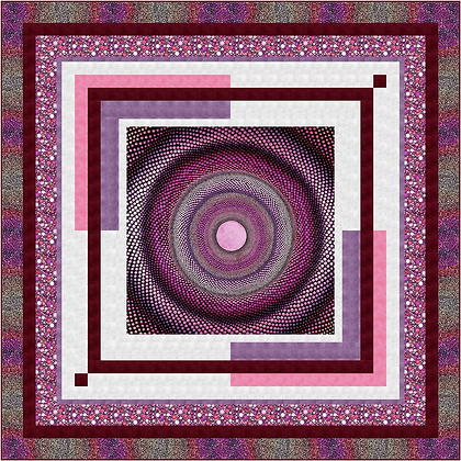 P&B Textiles Mindful Mandalas Framed Free Quilt Pattern