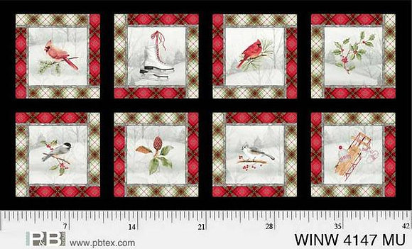 P&B Winter Wonderland Winter Panel - 9 inch