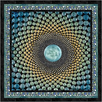 P&B Textiles Mindful Mandalas Free Quilt Pattern