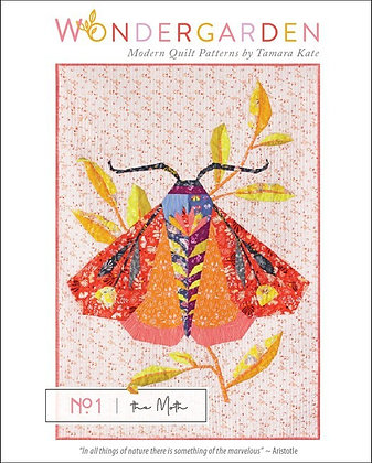 No 1 The Moth - PAPER pattern