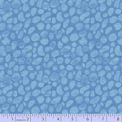 Marcus Fabrics Las Flores Stones - Light Blue