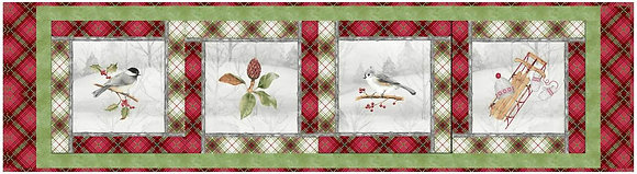P&B Textiles Winter Wonderland Table Runner and Place Mats - Free Pattern