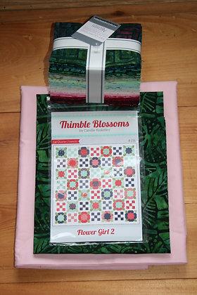 Flower Girl 2 Quilt Kit