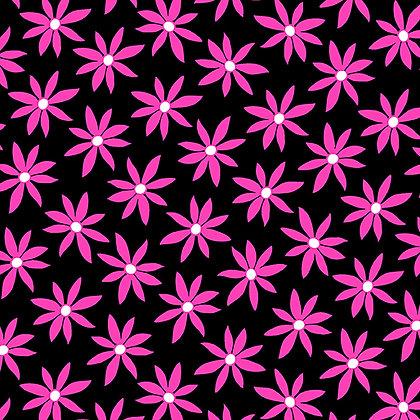 Kanvas Studio Fruit Punch Daisy Dot - Black/Pink