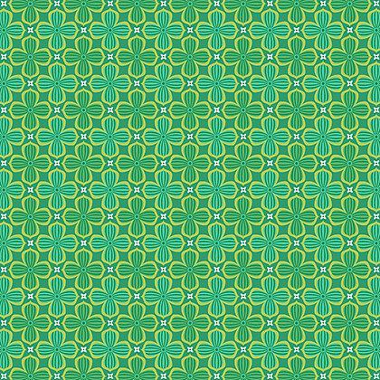 Benartex Crescendo Diamond - Green