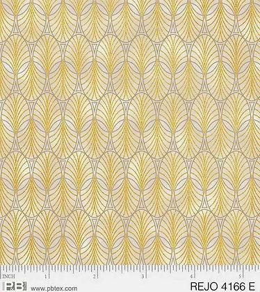 P&B Textiles Rejoice Geometrics - Ebony