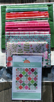 Rose Terrace Quilt Kit featuring Riley Blake's New Dawn