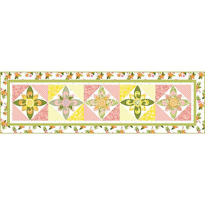 Riley Blake Pink Lemonade Table Runner Boxed Kit