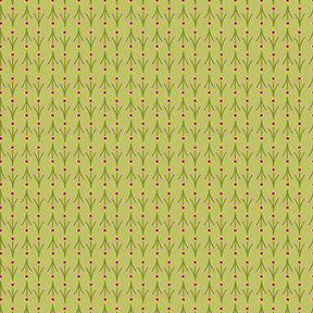 Summer Sampler Mini Floral - Green