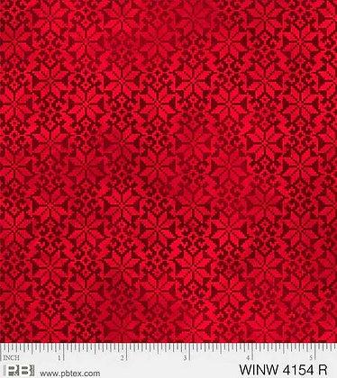 P&B Winter Wonderland Poinsettias - Red