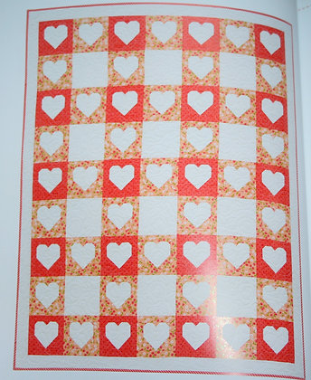 Check Your Heart Quilt Kit