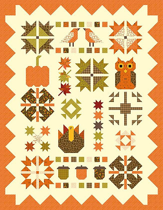 Riley Blake Give Thanks - Fabulous Fall Quilt Boxed Kit