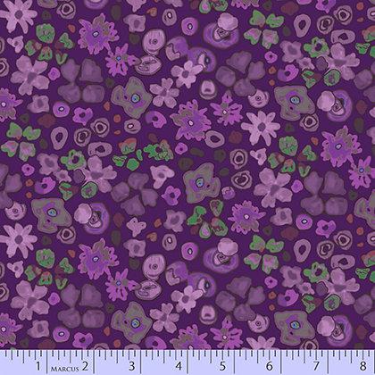 Marcus Fabrics Las Flores Floral - Purple