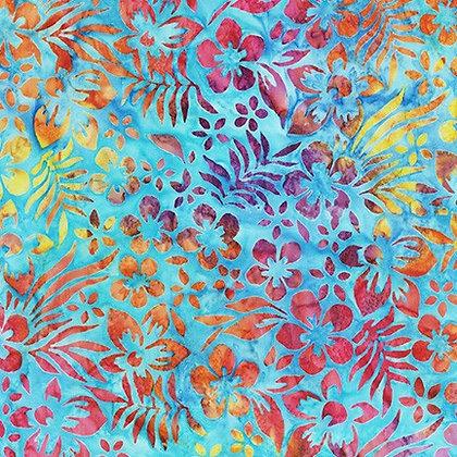 Robert Kaufman Artisan Batiks Totally Tropical - Rainbow